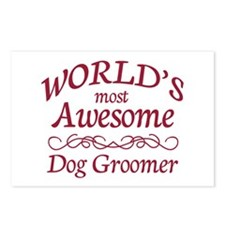 Dog Groomer Postcards (Package of 8)