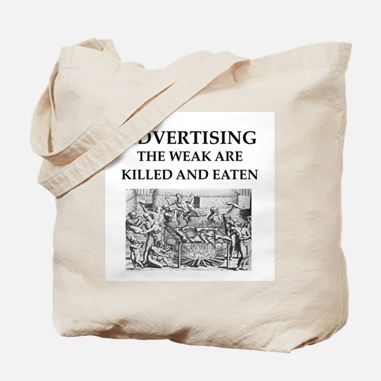 advertising Tote Bag