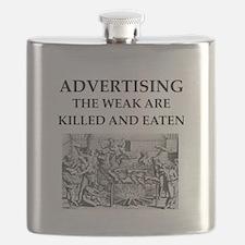 advertising Flask