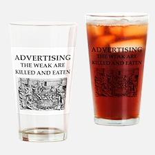 advertising Drinking Glass