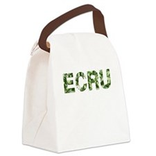 Ecru, Vintage Camo, Canvas Lunch Bag