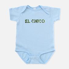 El Chico, Vintage Camo, Infant Bodysuit