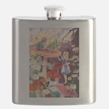 Alice Asks Advice From the Caterpillar Flask