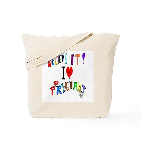 Pregnancy Art Tote Bag