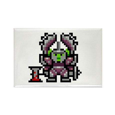 8bit Orc Rectangle Magnet (100 pack)