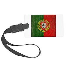 Vintage Portugal Flag Luggage Tag