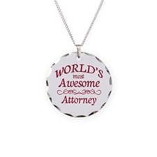Awesome Attorney Necklace