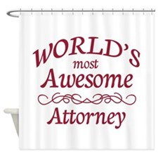 Awesome Attorney Shower Curtain