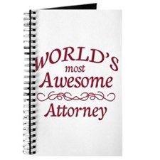 Awesome Attorney Journal