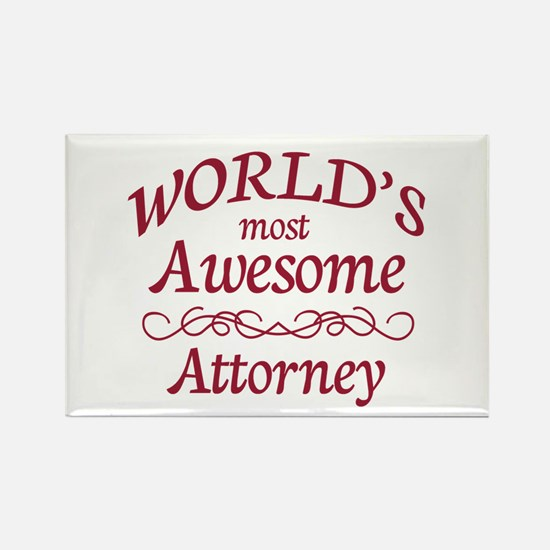 Awesome Attorney Rectangle Magnet