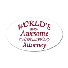 Awesome Attorney Wall Decal