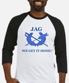 JAG WE GET IT DONE Baseball Jersey