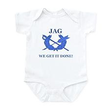 JAG WE GET IT DONE Infant Bodysuit