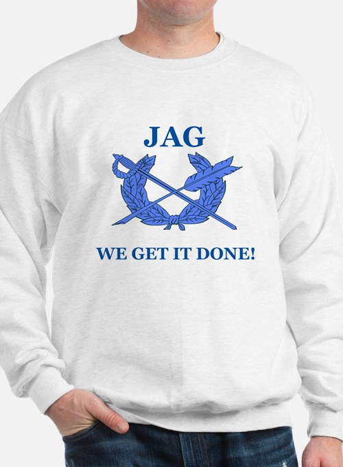 JAG WE GET IT DONE Sweatshirt