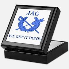 JAG WE GET IT DONE Keepsake Box