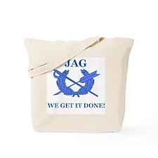 JAG WE GET IT DONE Tote Bag