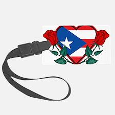 Heart Puerto Rico Luggage Tag