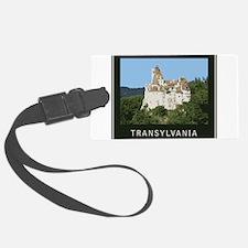 Transylvania Bran Castle Luggage Tag