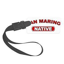San Marino Native Luggage Tag