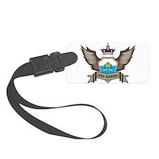 San Marino Emblem Luggage Tag
