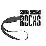 Saudi Arabia Rocks Large Luggage Tag