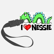 I Love Nessie Luggage Tag