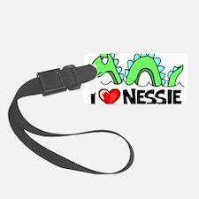 I Love Nessie Luggage Tag