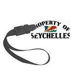 Property Of Seychelles Small Luggage Tag