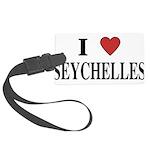 I Love Seychelles Large Luggage Tag