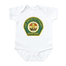L A County Harbor Patrol Infant Bodysuit