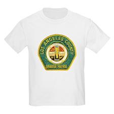 L A County Harbor Patrol Kids T-Shirt