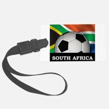 South Africa Football Luggage Tag