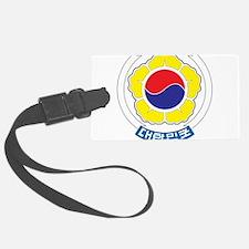 South Korea Coat Of Arms Luggage Tag