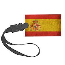 Vintage Spain Flag Luggage Tag