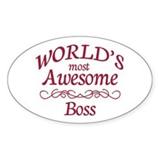 Awesome Boss Decal