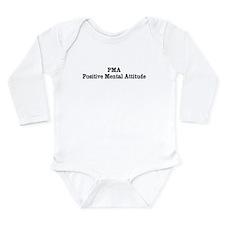 PMA Long Sleeve Infant Bodysuit