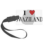 I Love Swaziland Large Luggage Tag