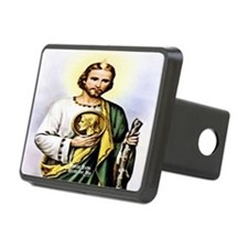 St Jude Pray For Us Olde English Hitch Cover