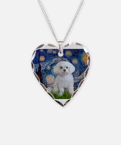 Unique Dog breed Necklace Heart Charm