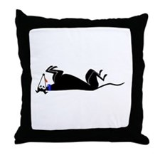 Unique Galgo Throw Pillow