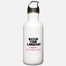 Funny Speech pathology Water Bottle