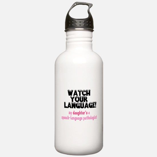 Funny Speech therapist Water Bottle