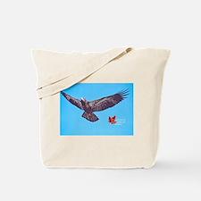 Wild Bald Eagle Tote Bag