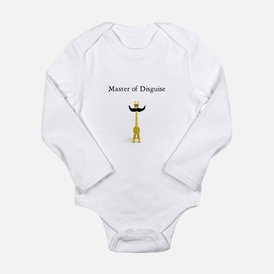 Master of Disguise Long Sleeve Infant Bodysuit