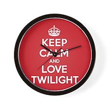 K C Love Twilight Wall Clock