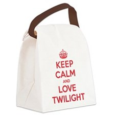 K C Love Twilight Canvas Lunch Bag