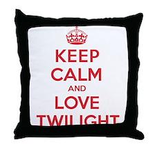 K C Love Twilight Throw Pillow