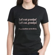 Funny! Punctuation Saves LIVES! Tee