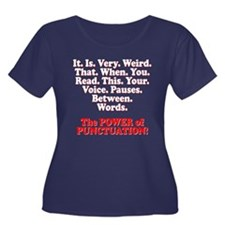 Funny! Power of Punctuation! T