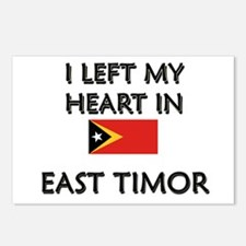 I Left My Heart In East Timor Postcards (Package o